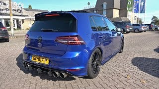 400HP VW Golf 7 R with LOUD Armytrix Exhaust System! REVS + ACCELERATIONS!