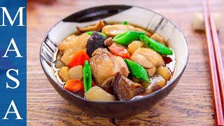 Recipe of Fukuoka - Fukuoka Style of Simmered Chicken & Vegetables | MASA's Cuisine ABC