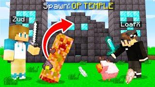 Minecraft, but MOBS spawn OP STRUCTURES?!