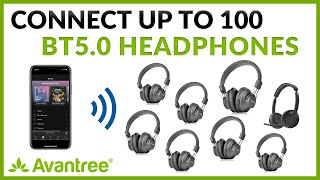 How to Connect Multiple Bluetooth Headphones to ONE Source