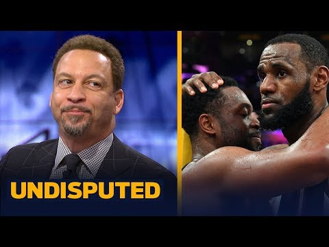 Chris Broussard breaks down the friendship between Dwyane Wade and LeBron James | NBA | UNDISPUTED