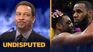 Chris Broussard breaks down the friendship between Dwyane Wade and LeBron James | NBA | UNDISPUTED
