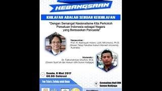 Seminar Khilafah Adalah Sebuah Kekhilafan Oleh Prof. Nadirsyah Husen Ph. D.