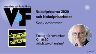 Dan Larhammar – Nobelpriserna 2020 och Nobelprisarbetet