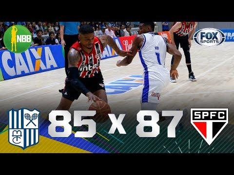 FINAL DE JOGO ELETRIZANTE! Melhores momentos de Minas 85 x 87 São Paulo pelo NBB