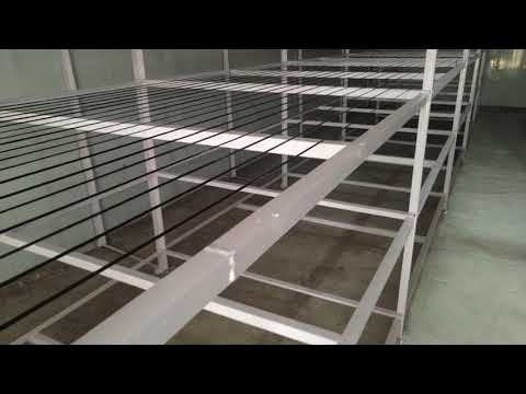 Mushroom Cultivation Racks wire