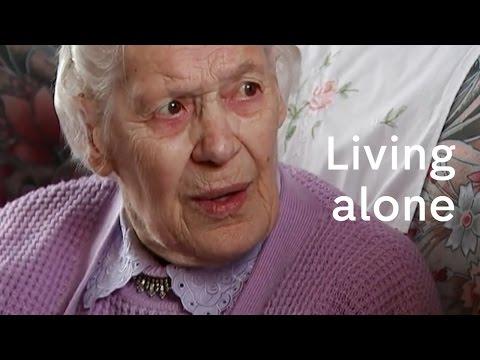 What does it feel like to be old and alone?