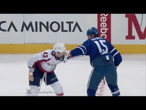 Matt Martin vs. Tom Wilson