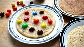 1 Dough 3 NO-BAKE Cookies: M&M's Snickerdoodle Sugar