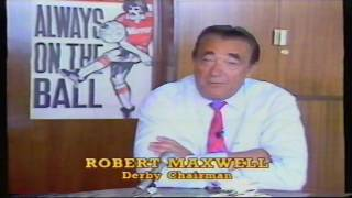 1987 88 Peter Shilton Bought By Derby County   Robert Maxwell Explains