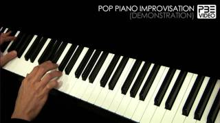 Pop Piano Improvisation Demonstration