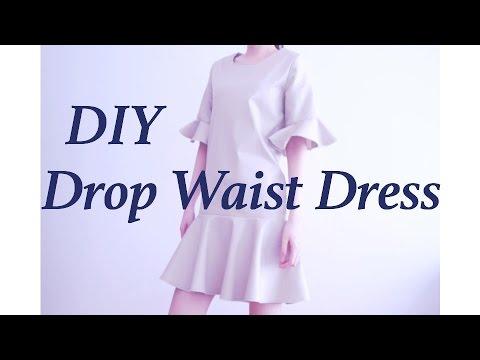 DIY Drop Waist Dress / Sewing Tutorialㅣmadebyaya