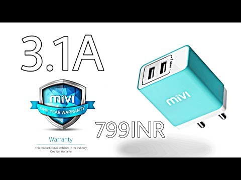 Mivi Smart Smartphone Charger With 5Volt & 3.1A!(Is it Better than fast Charger?)