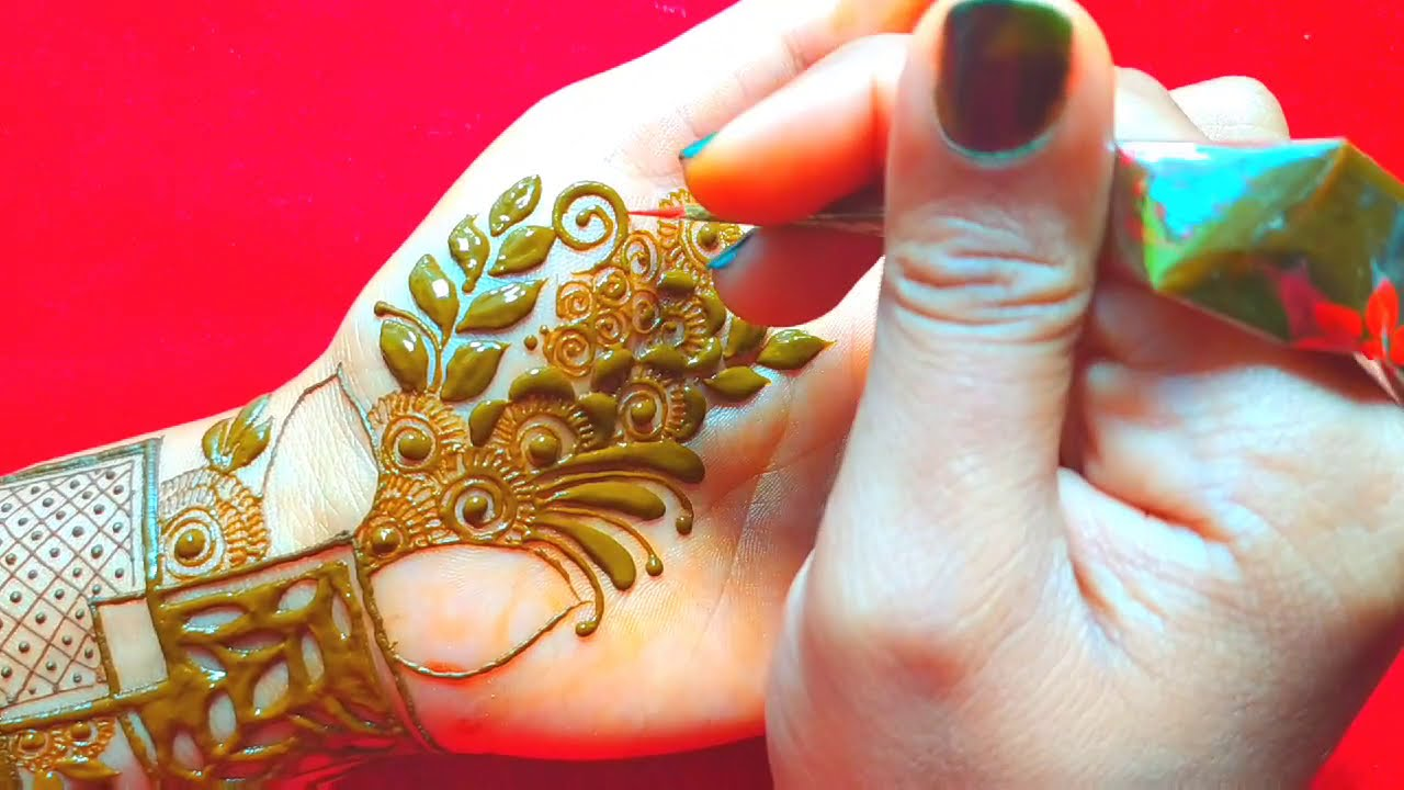 african mehndi design fro hands by neha