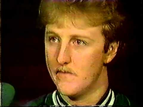 Larry Bird Interview With Chick Hearn (1985)