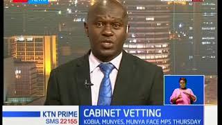 President Uhuru Kenyatta's list of nominees for CS positions is set for Thursday