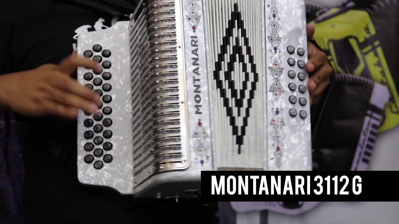 MONTANARI ACCORDION 3112 G - YouTube