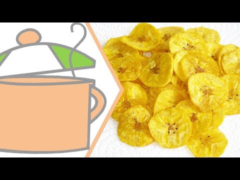 How to Make Plantain Chips | All Nigerian Recipes