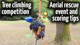 Aerial Rescue Training Tool | Tree Climbing Competitions