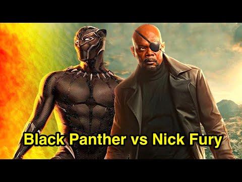Black Panther vs Nick Fury