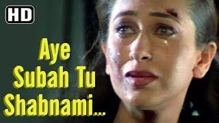 Aye Subah Tu Shabnami (HD) | Baaz Song | Dino Morea | Karisma Kapoor | Suniel Shetty | Sadhna Sargam