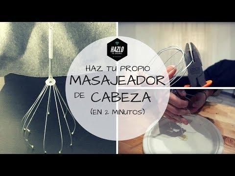 COMO HACER UN MASAJEADOR DE CABEZA! (En 2 minutos!!!!!)