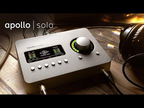 ה-Apollo Solo - ממשק אודיו שולחני בחיבור Thunderbolt 3