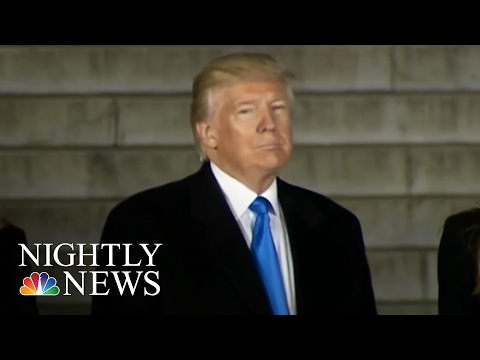 Donald Trump's Era Begins As President Elect Trump Arrives In Washington | NBC Nightly News