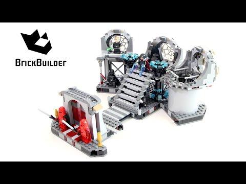 Vidéo LEGO Star Wars 75093 : Le duel final de l'Étoile de la Mort