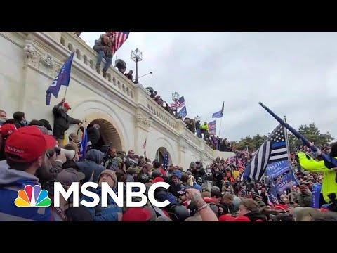 Rep. Swalwell Files Civil Suit Against Donald Trump Over Capitol Invasion | The Last Word | MSNBC