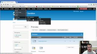 How to Set Up Drupal 7 Forums with the Advanced Forum Module