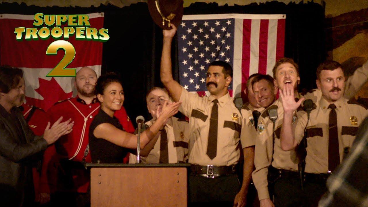 Super Troopers 2 - Look for it on Digital