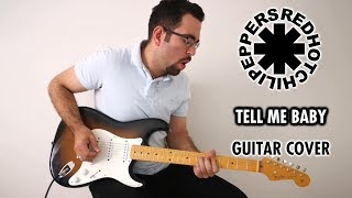 red hot chili peppers give it away cover guitar - TH-Clip