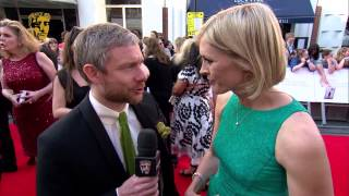 Martin Freeman - BAFTA Television Awards Red Carpet In 2014