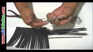 Como hacer pelo largo liso fofuchas