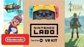 Nintendo Labo: VR Kit + Super Mario Odyssey / The Legend of Zelda: Breath of the Wild
