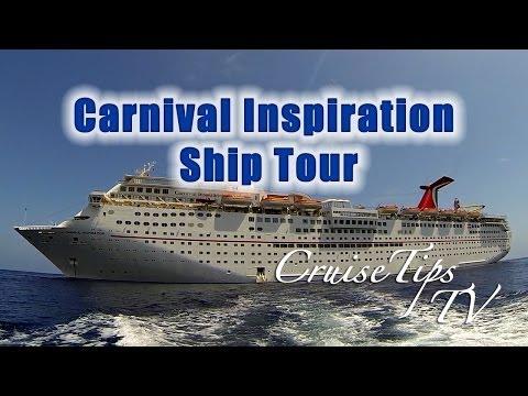 Carnival Inspiration Ship Tour – CruiseTipsTV