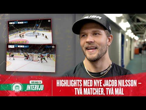 Youtube: SE MÅLEN! Nyförvärvet Jacob Nilsson har inlett strålande i Frölunda