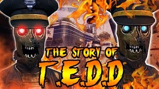 The Story of T.E.D.D! TRANZIT BUS DRIVER SECRETS! Call of Duty Black Ops 2 Zombies Storyline