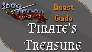 [OSRS] Pirate's Treasure Quest Guide