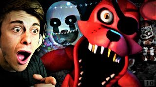youtubers react to fnaf ultimate custom night trailer - Thủ thuật