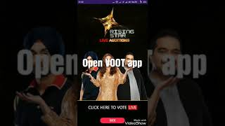 How to vote for RISING STAR 3 using VOOT app