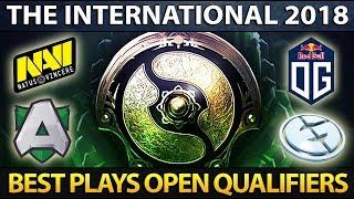 The International 8 Open Qualifiers: Best Plays Dota 2