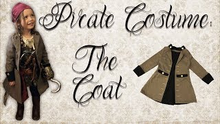 Pirate Costume Pt. 2: The Coat | Burda Style PDF Sewing Patterns