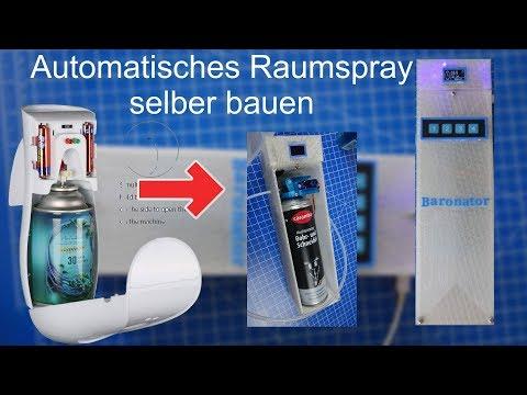 Arduino Projekt Automatisches  Duftspray - elektrisches Raumspray