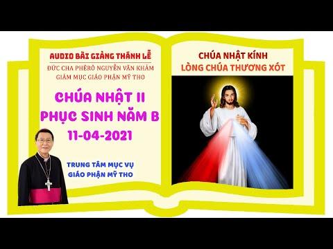Đức Cha Phêrô suy niệm CN II PS B: BÌNH AN CỦA ĐẤNG PHỤC SINH