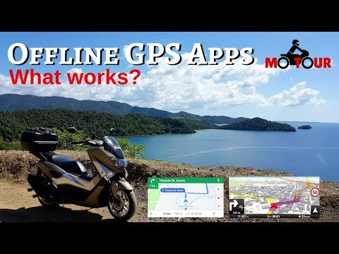 Offline GPS Apps: What I use for Touring