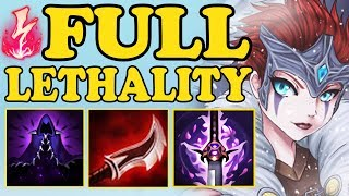 THE LEGENDARY 1 SHOT AUTO |  FULL LETHALITY QUINN MID VS YASUO | BROKEN BUILD | S8 LOL 8.4