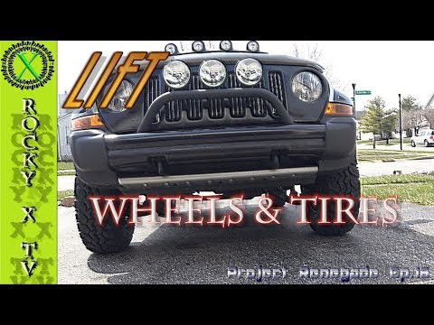 Jeep Liberty Lift, U.S Wheels & Super Swamper Tires, Project Renegade Ep.16