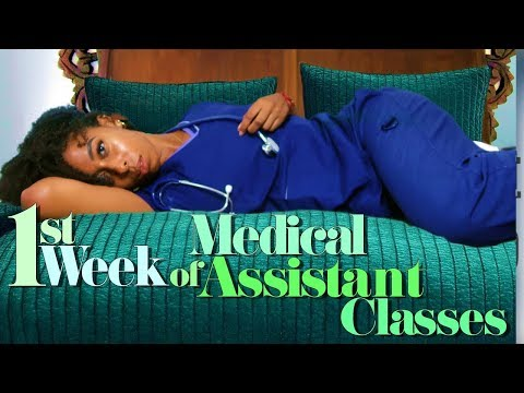 1st Week of Medical Assistant Classes | CMA courses